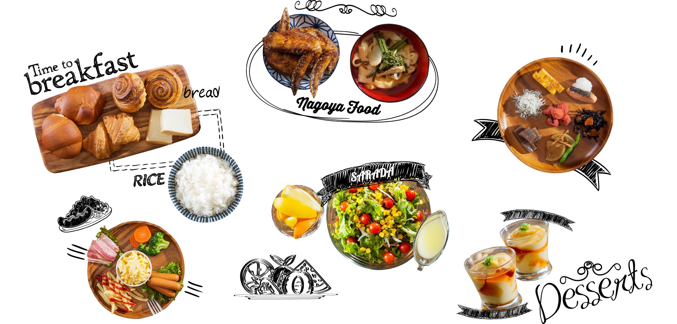 ホテルマイステイズ名古屋栄の朝食 イメージ画像